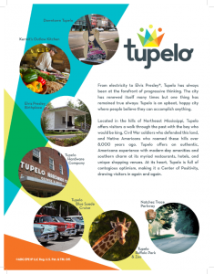 tupelo international travel guide cover