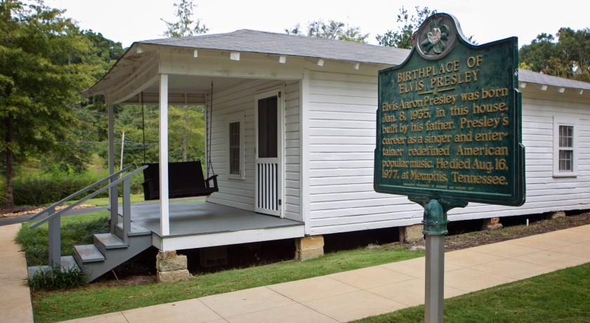 Elvis presley birthplace tupelo for Home builders in south ms