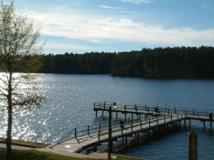 Trace State Park dock